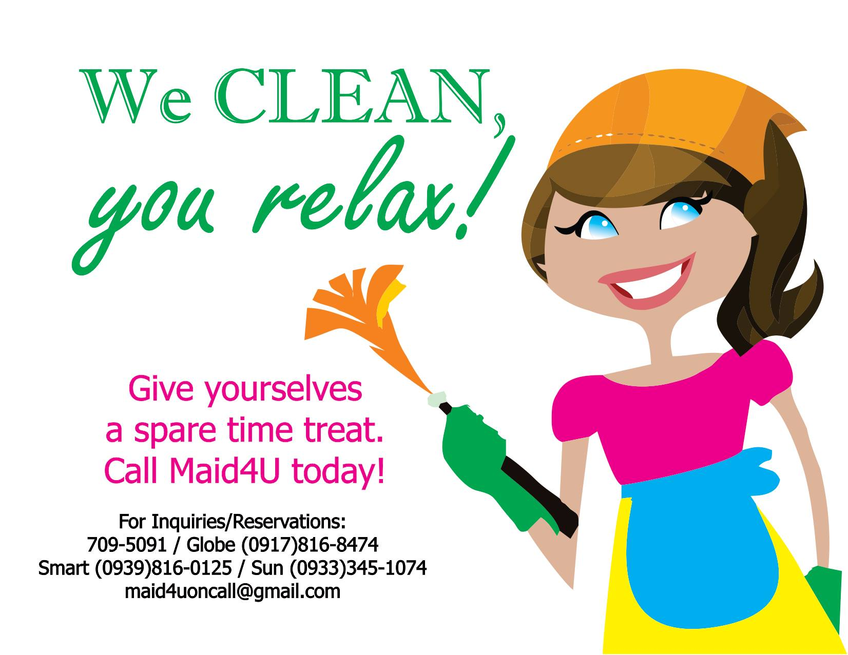 hire mfy cleaning services maid4u in quezon city gawin thumb ms clean generic ad