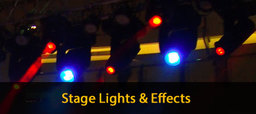 Thumb stage lights