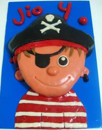 Thumb pirate cake