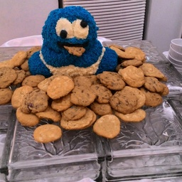 Thumb cookie monster