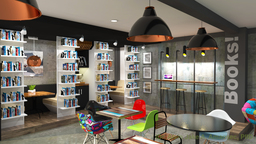 Thumb book cafe concept 1